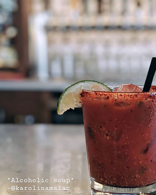 Bloody Mary or Michelada, what kind of 🤠 are you? We have both either way.