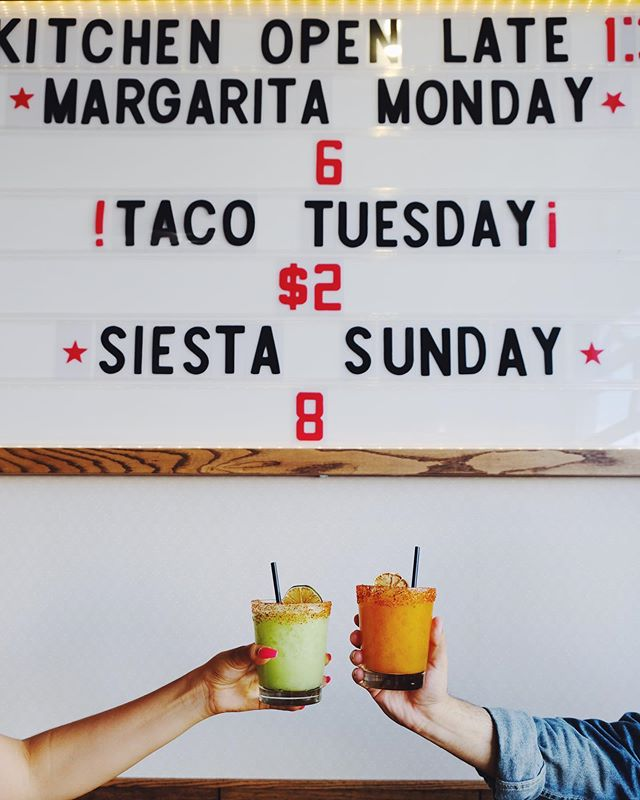 MARGARITA MONDAYS!! $6 Tommy classic margaritas; $8 for our specialty mango and avocado margaritas! #margsmargsmargs