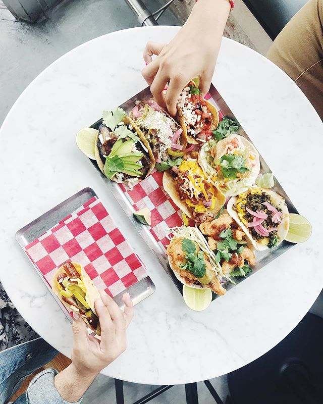 Hope your body is ready because it's #TACOTUESDAY YALL. Serving $2 tacos allllll daaayy #damngoodfood #bettertimes