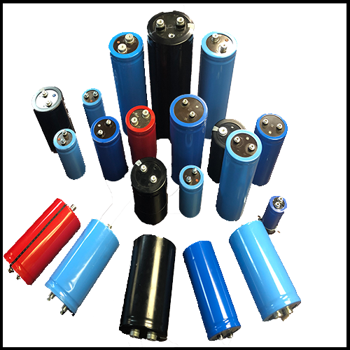 Specialty DC capacitors