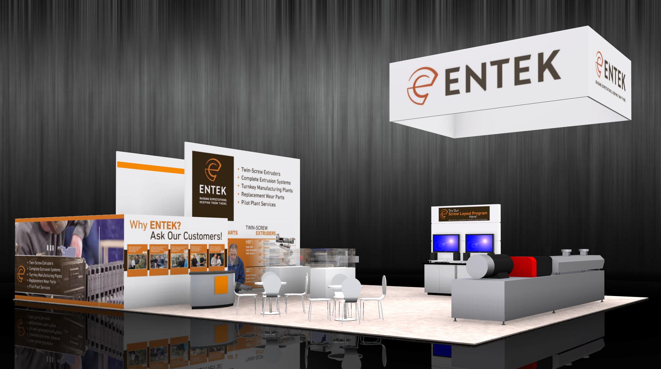 ENTEK 40 x 50 display - NPE 2018