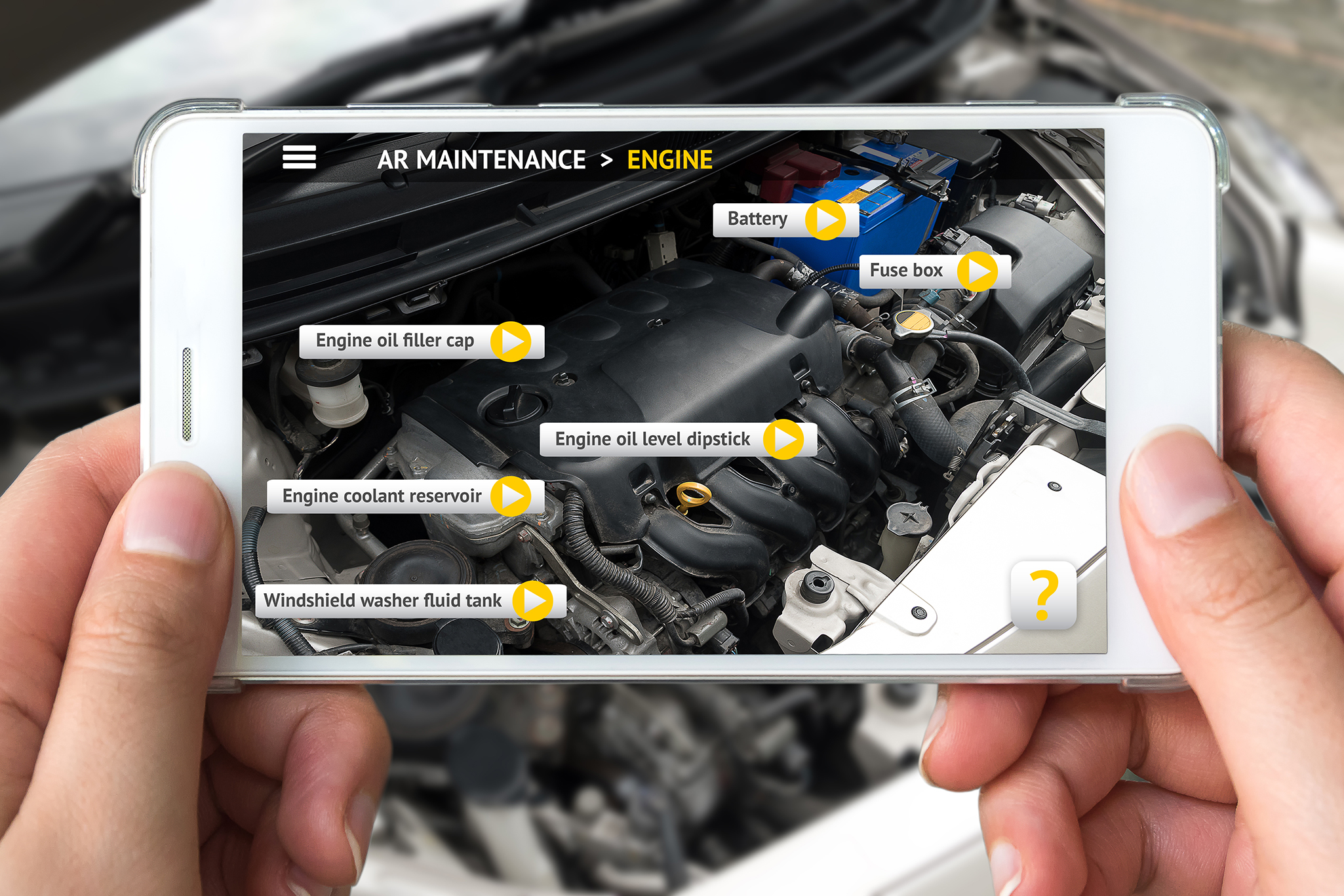 Augmented Reality - Using object detection on device enables maintenance, training and consumer applications in real time and remote.