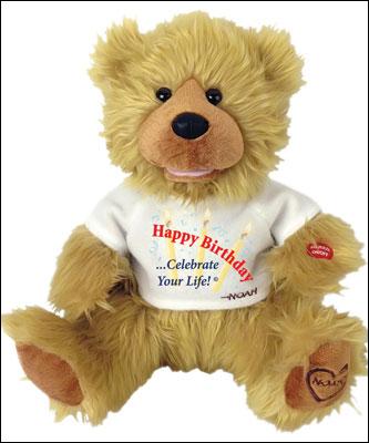 Happy Birthday Noah Bear