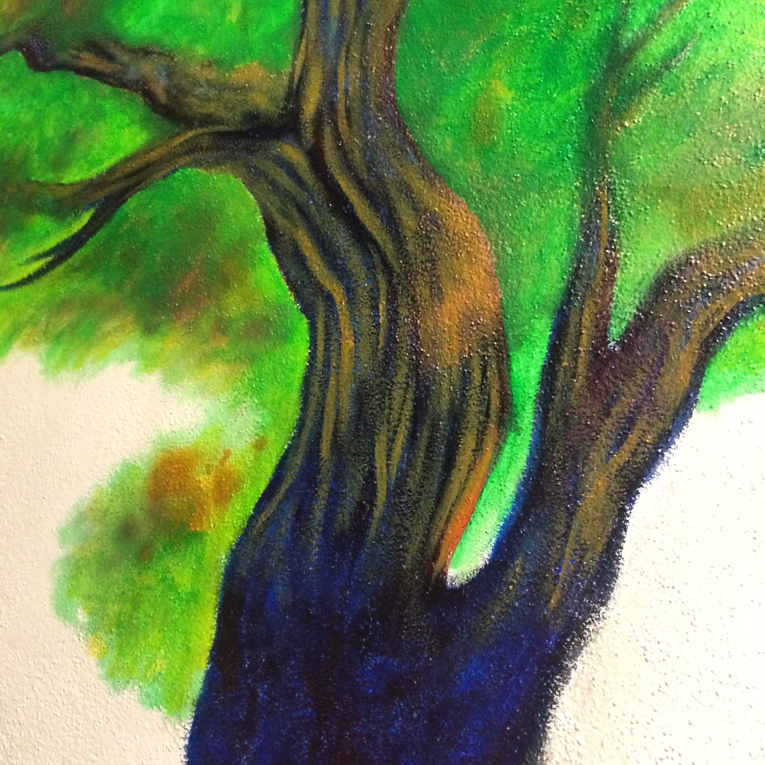 NHUMC Tree Mural (2017) - Documenting my process while I paint a mural at the Normal Heights United Methodist Church