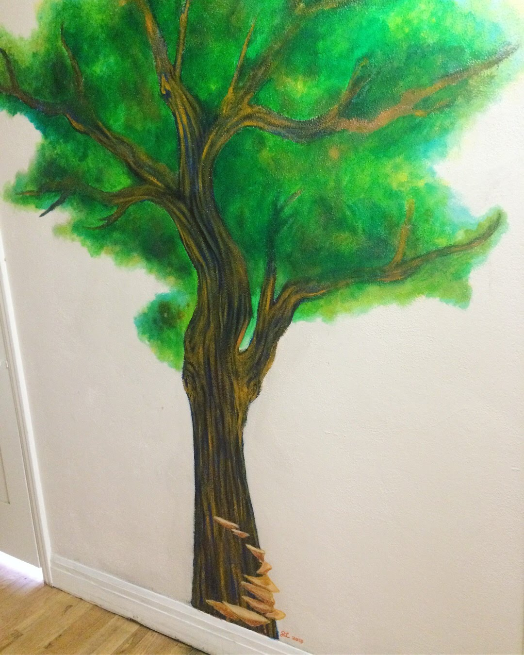 Tree Mural  - for Normal Heights United Methodist Church