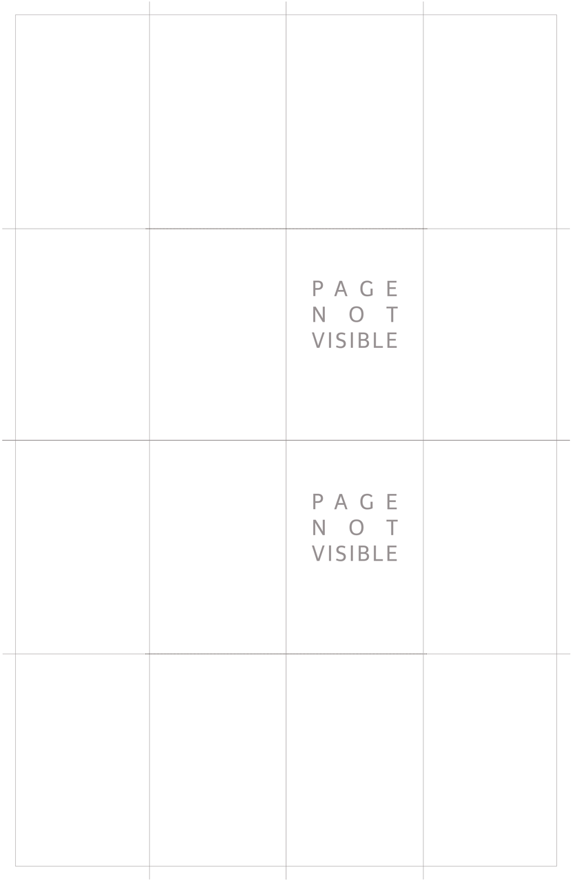 PRINT FRIENDLY TEMPLATE - No text template. Just cut on the dotted lines and fold on the solid.
