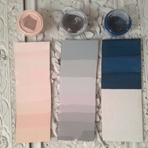 Paint colors and swatch cards