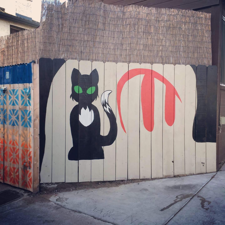 Nikita's finished mural.