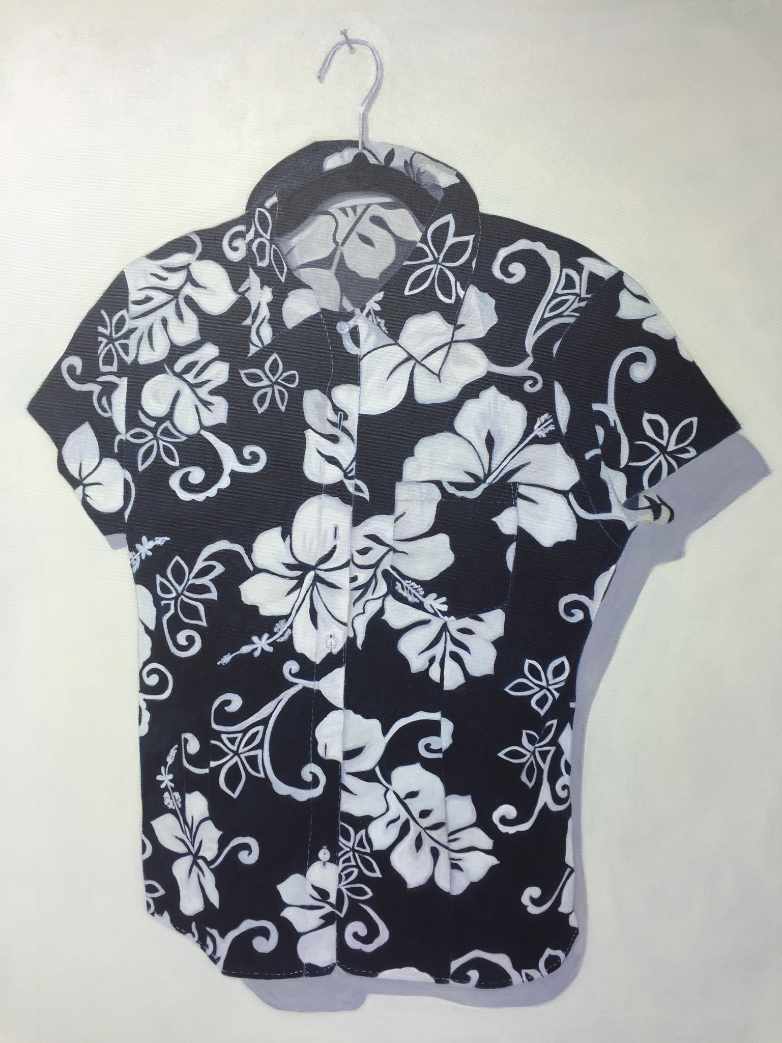 The Hawaiian Shirt, 20 x 30, acrylic
