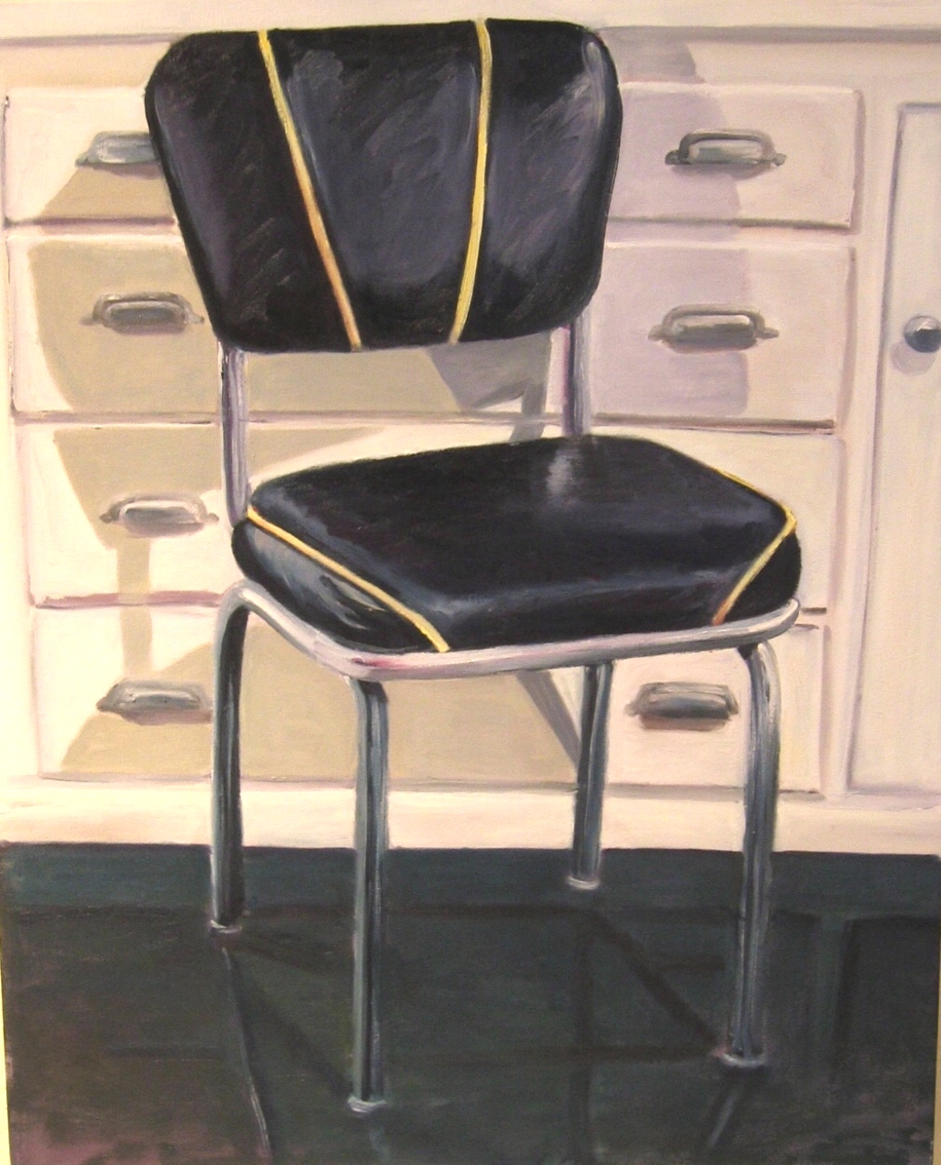 Dinette, 24 x 30, acrylic