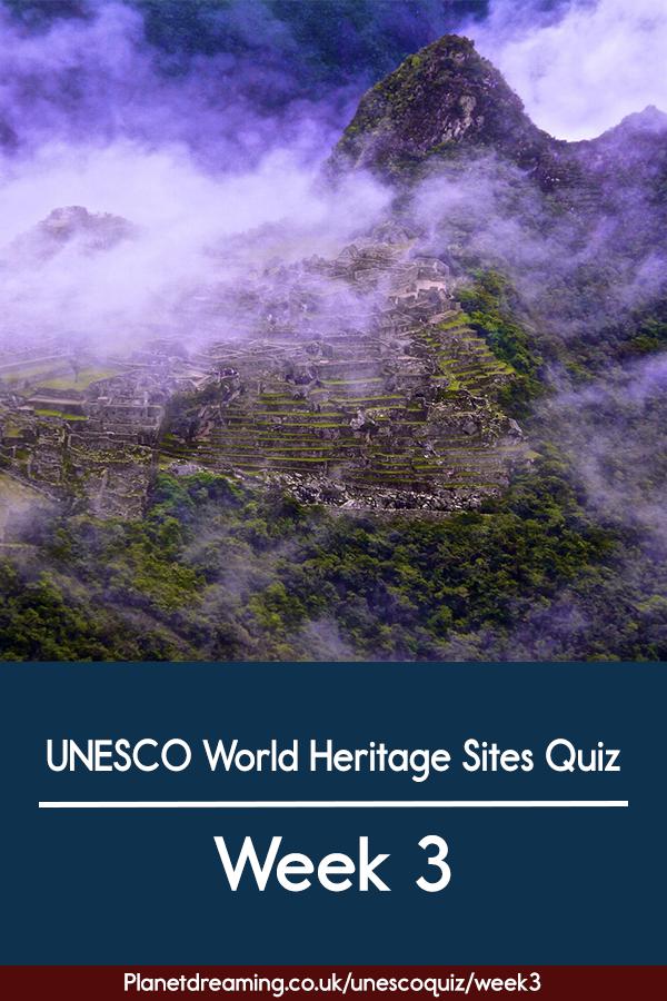 Unesco quiz week 3