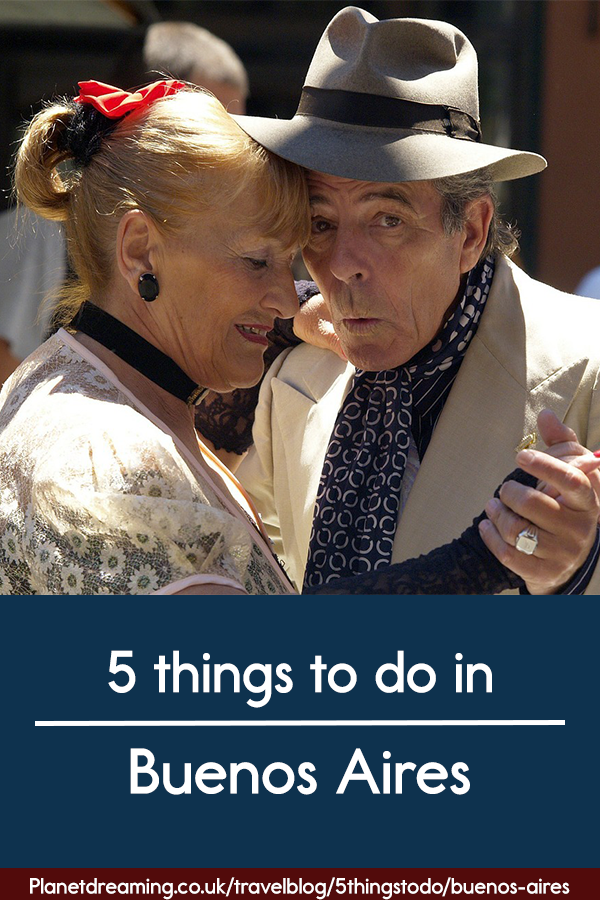 5 things to do in Buenos Aires