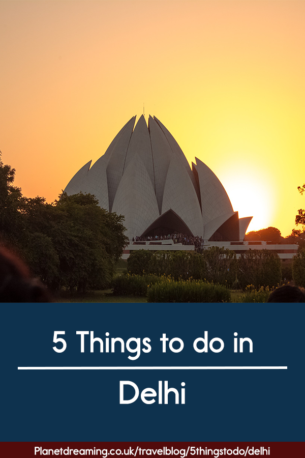 5 things to do in Delhi