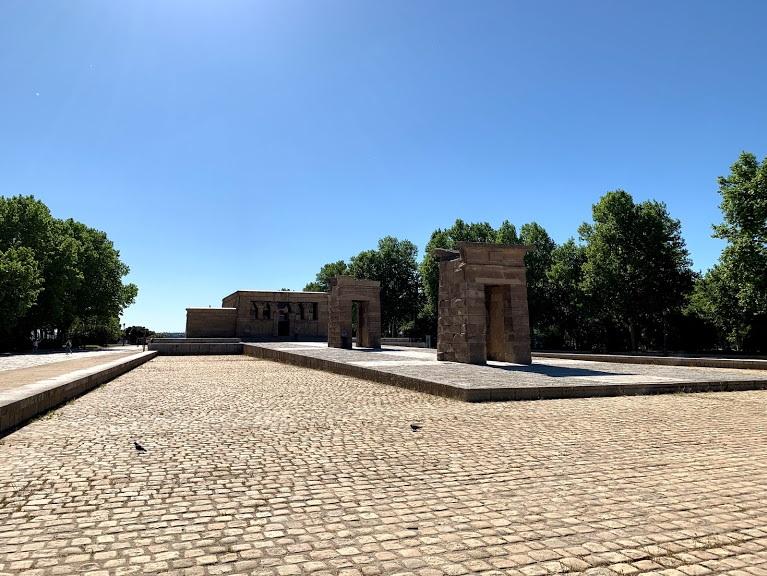 Templo de Debod  Photo by Roving Fox