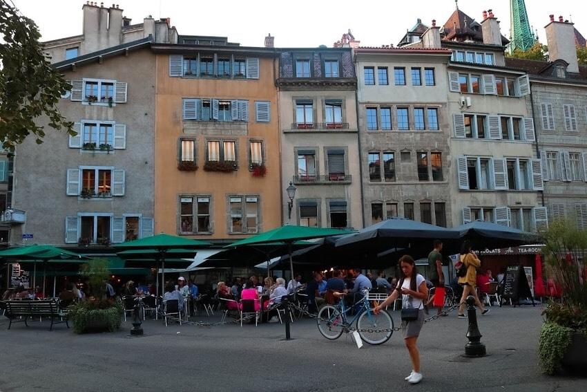 The Bourg-de-Four-Square
