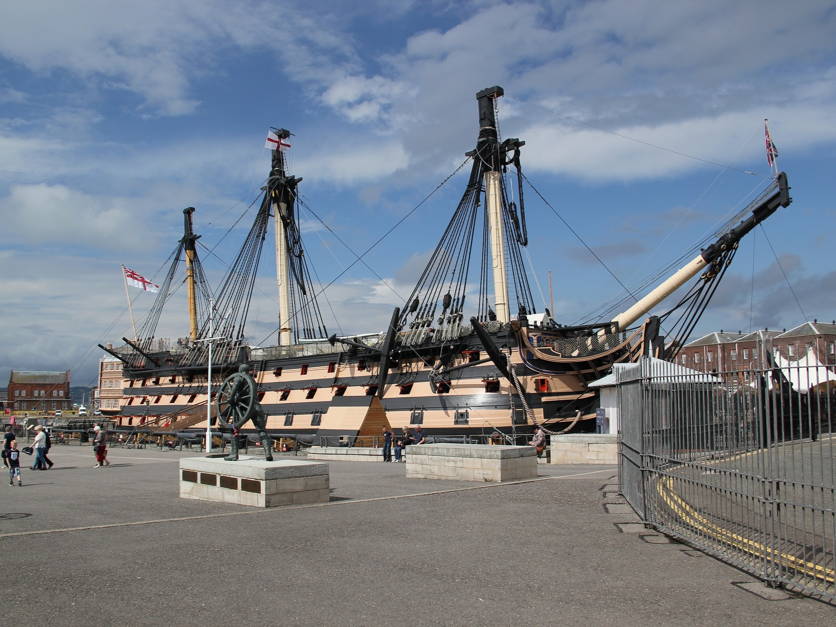 HMS Warrior in the Historic Dockyard