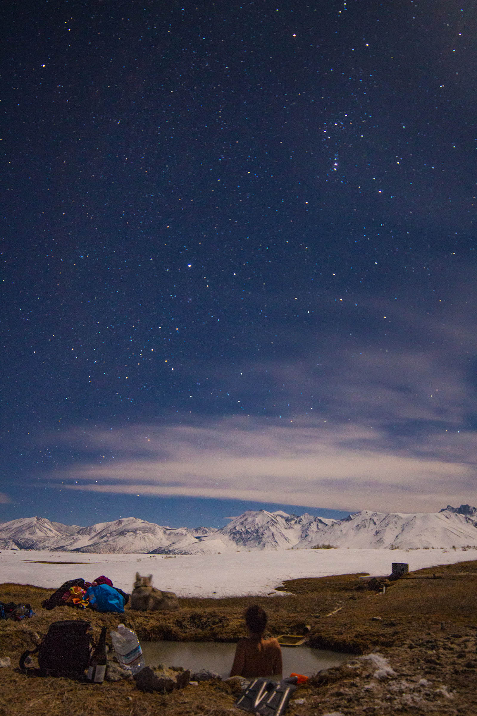 Another example of shooting under the moonlight with similar settings (Samuel Kahn -  @alpineastro )