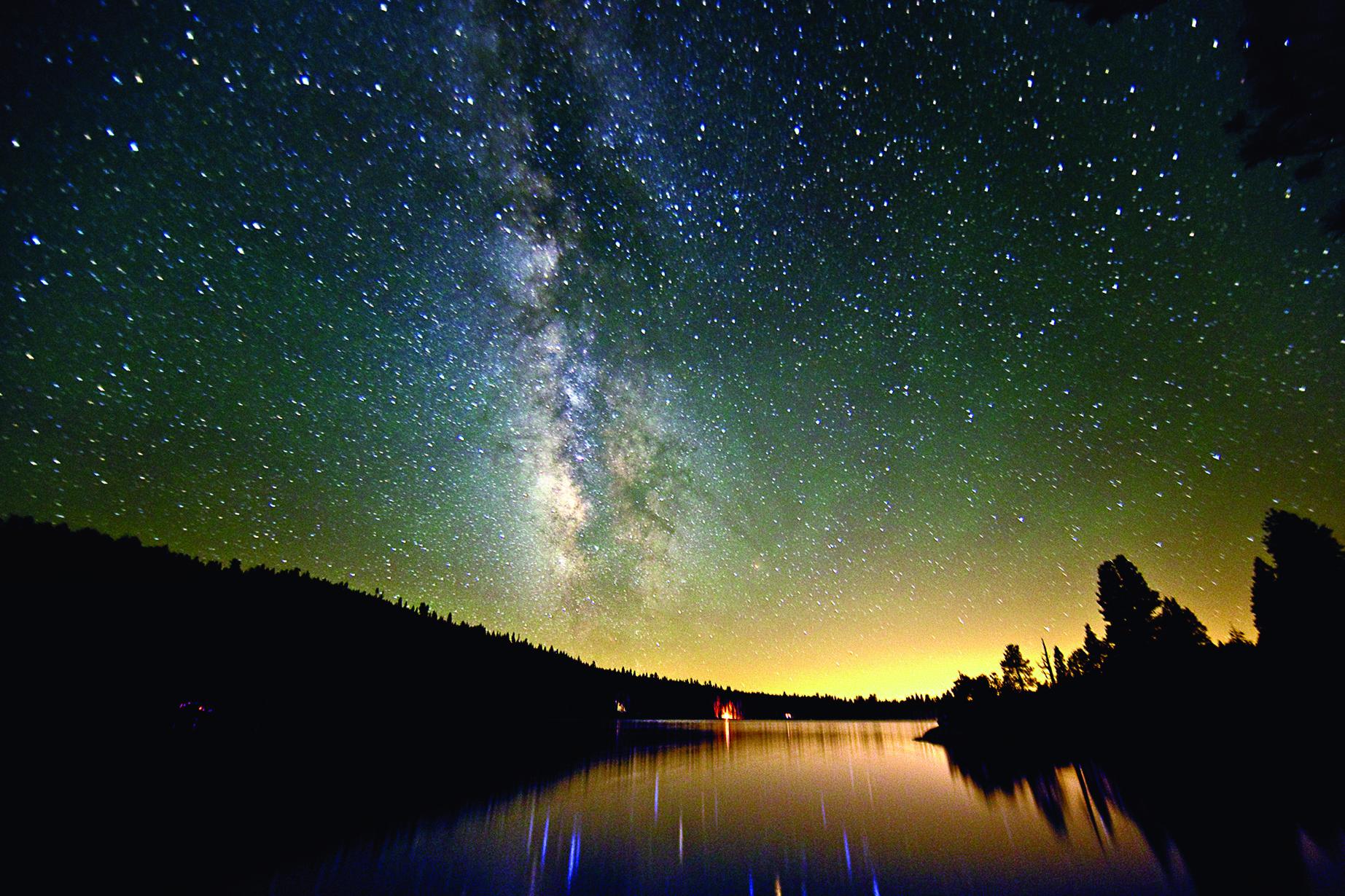 Pinecrest Lake lies in California's Sierra Nevada
