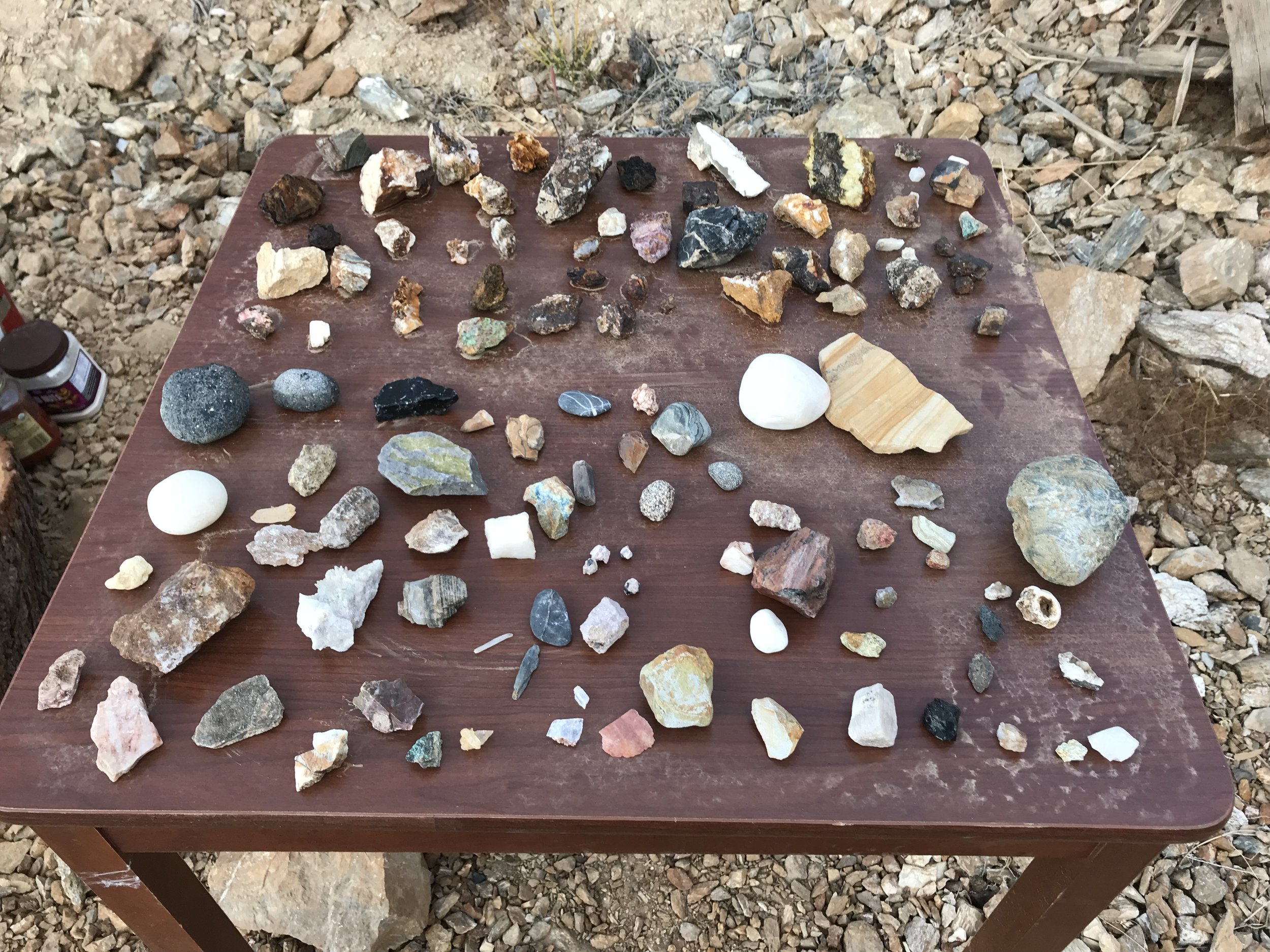If you like cool rocks then find some and take them home with you