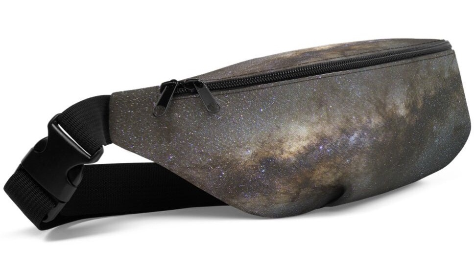 The Milky Way Fanny Pack is approved for intergalactic travel