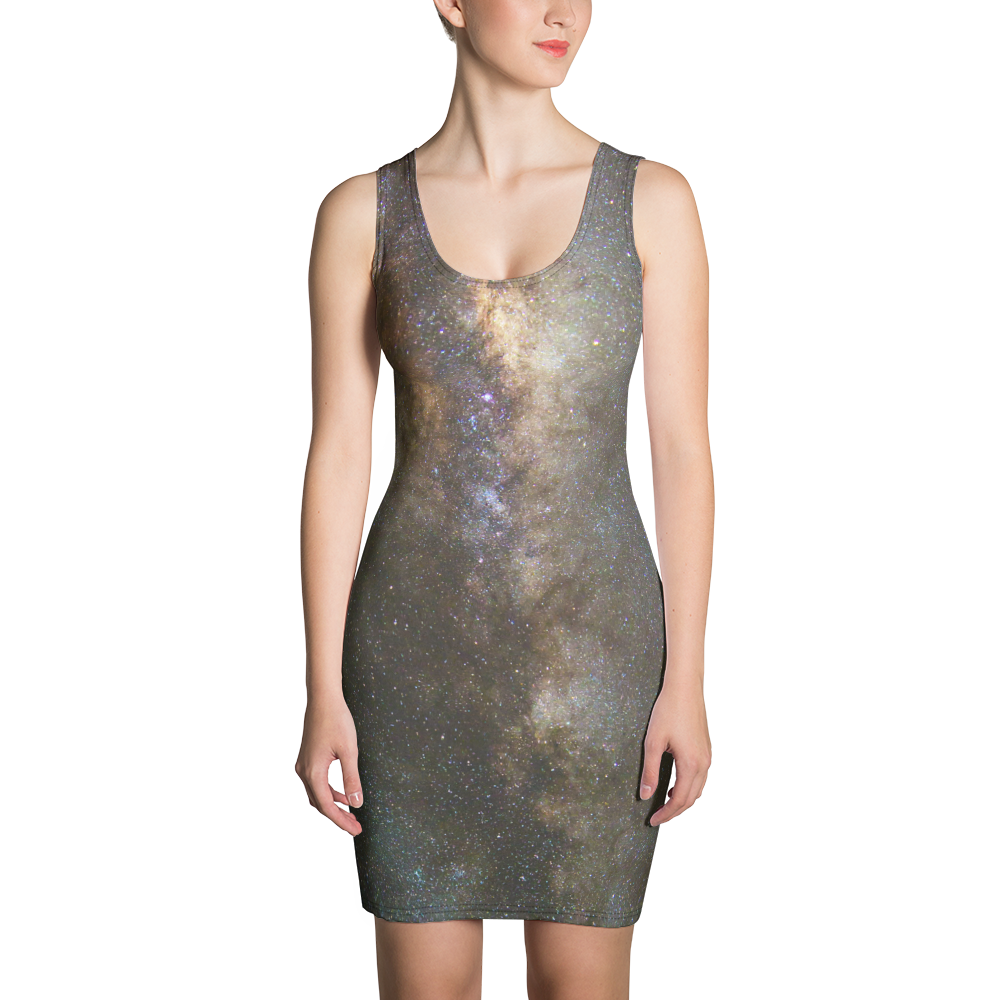 Beam through your day in a Milky Way Dress