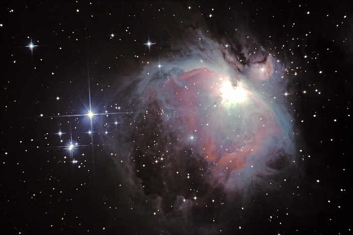 "Viewing the Orion Nebula from the 14"" Meade LX850 is a real treat"