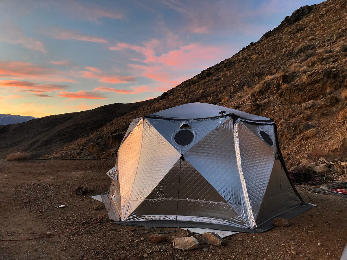 Check out a SHIFTPOD or stay in one