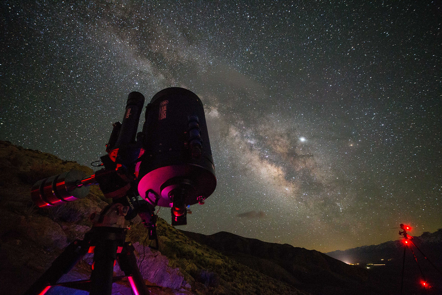 """The amazing Meade 14"""" LX850 will be on hand for deep space viewing"""