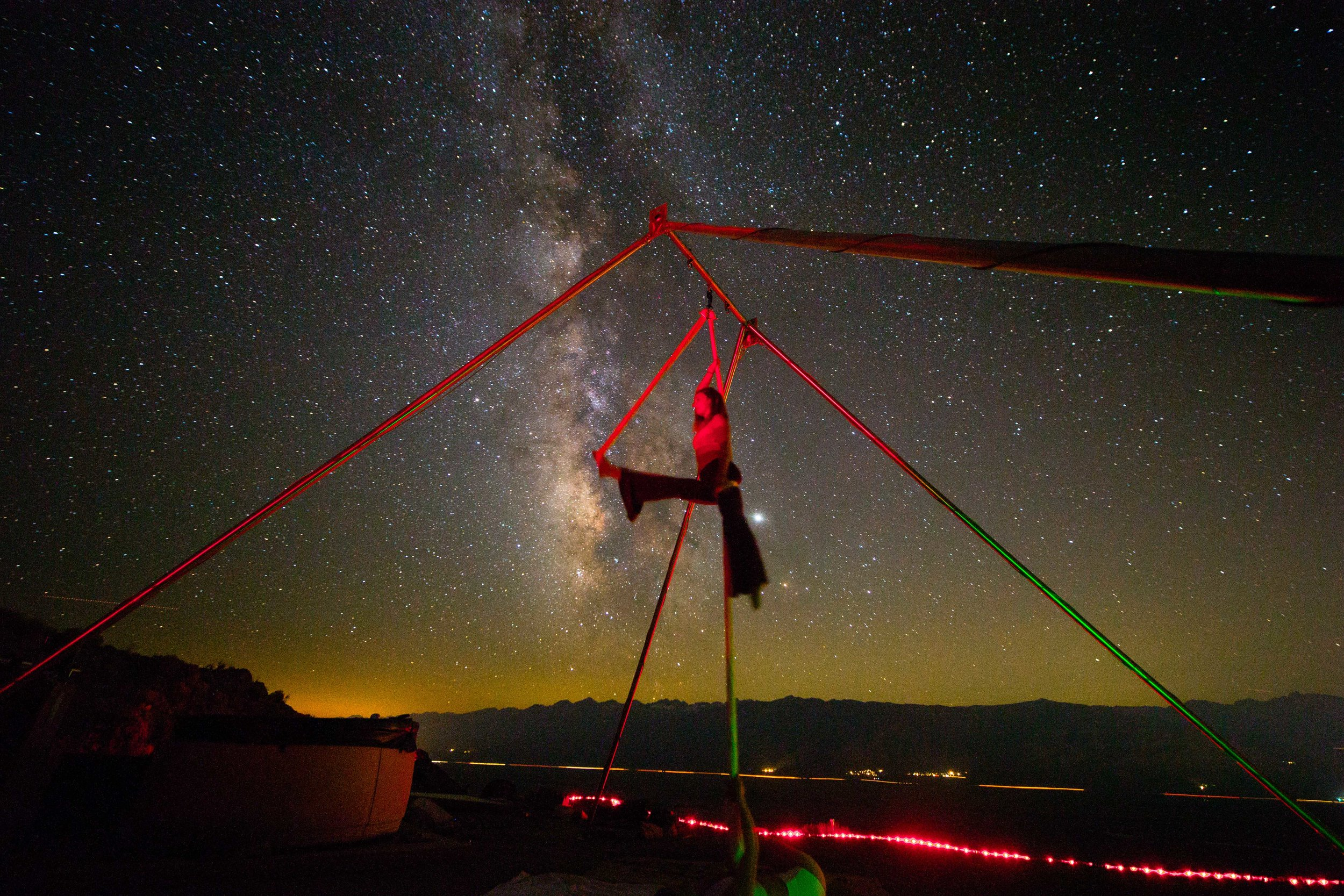 Come and get your silks on under the stars!