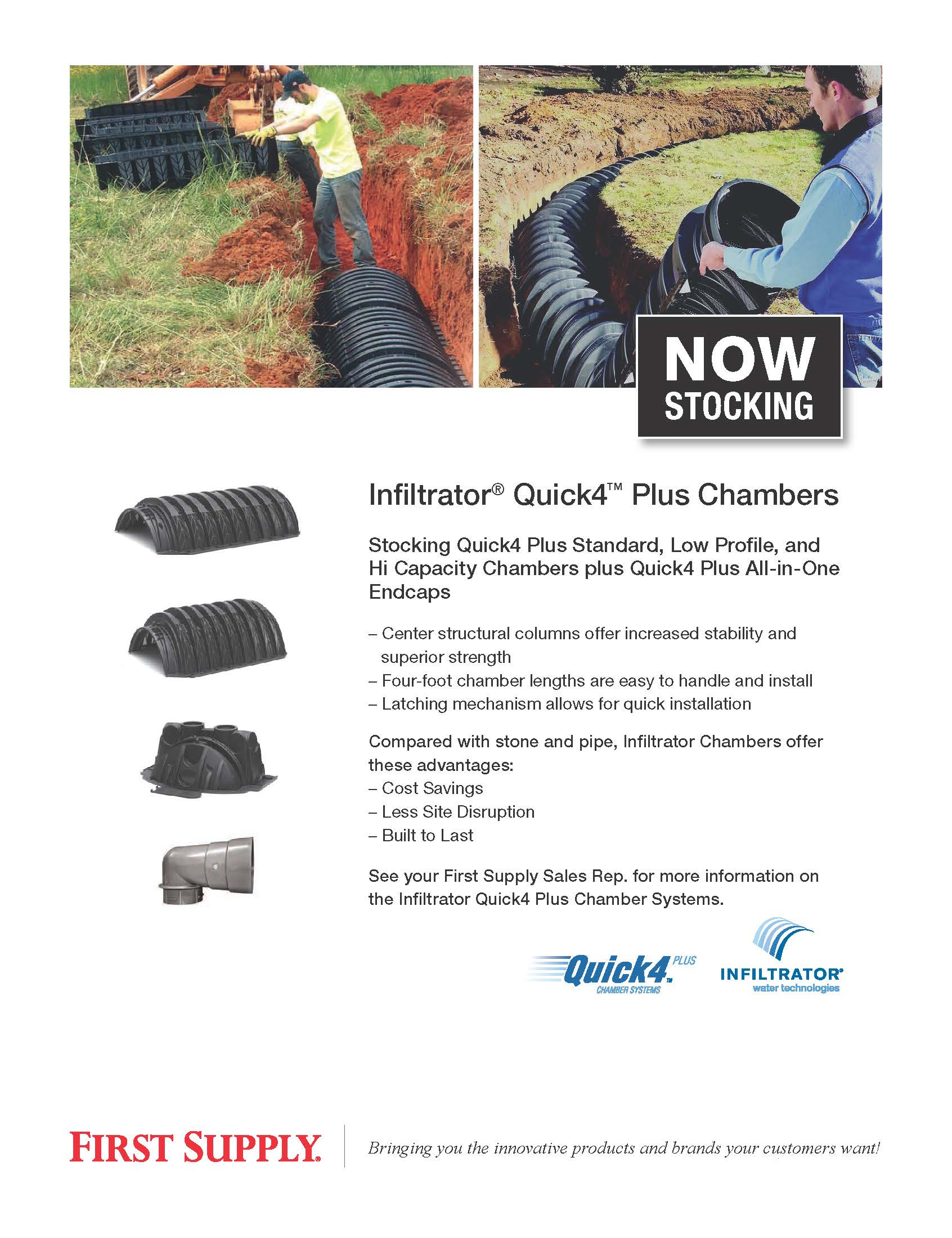 Infiltrator Quick4 Plus Chambers [ download pdf ]