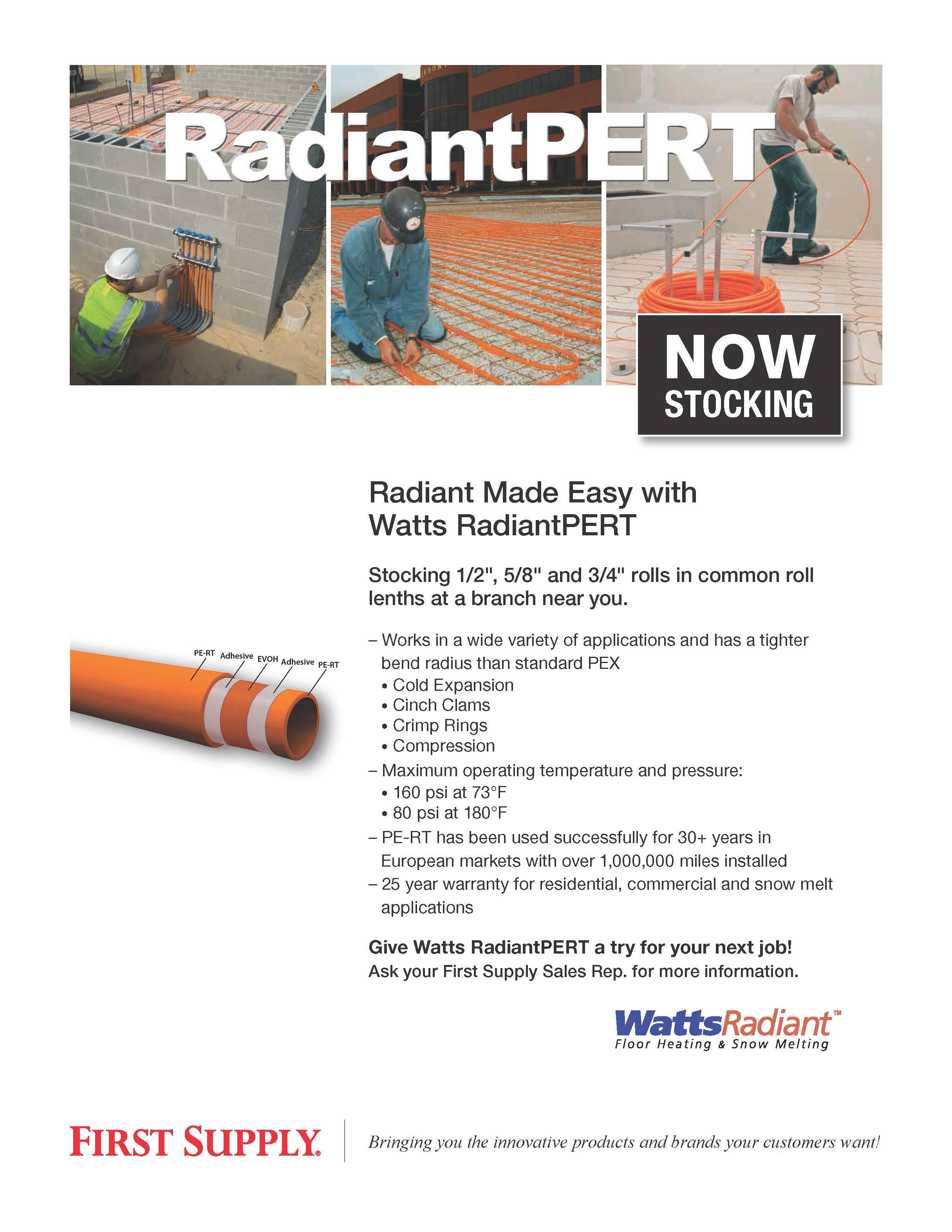 Watts RadiantPERT [ download pdf ]