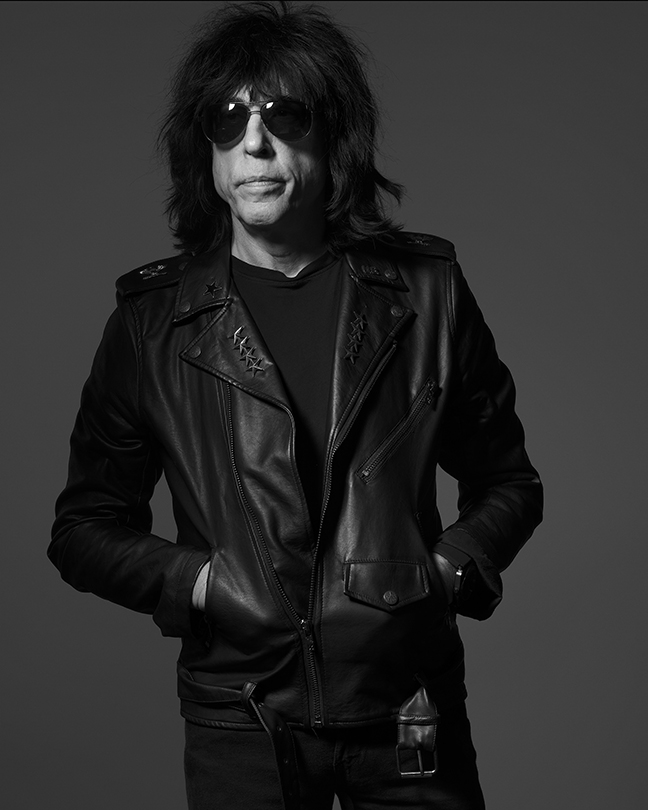MARKY RAMONE - ON: TECHNOLOGYDrummer Marky Ramone has been a fixture in the New York music scene for the past forty years as a member of groups like Dust, Wayne County and The Backstreet Boys, and his namesake The Ramones. He continues to tour internationally with his band Marky Ramone's Blitzkrieg.photographsAlbert Watsoncreative directionMelissa Jones
