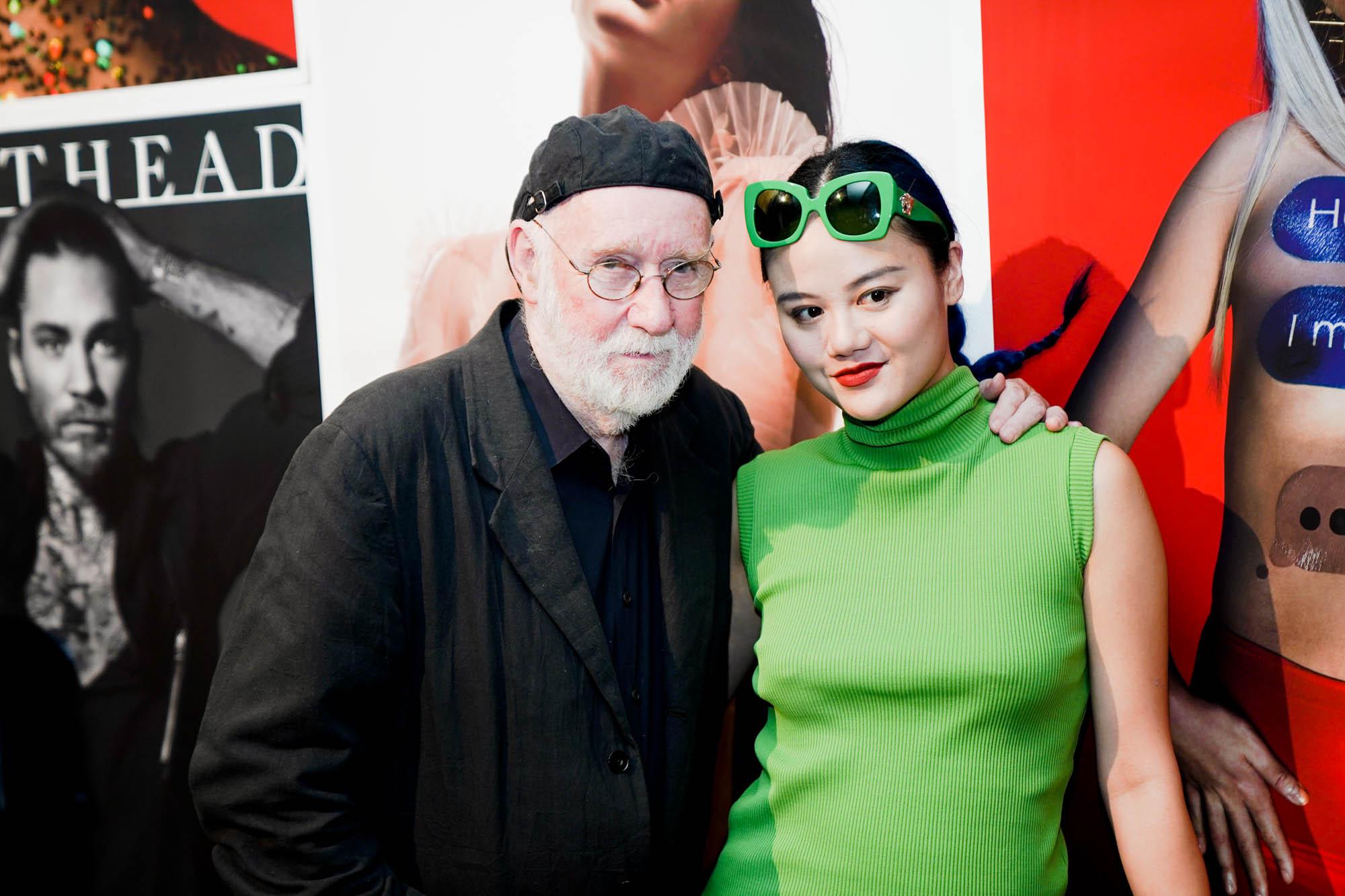 Albert Watson with John Yuyi