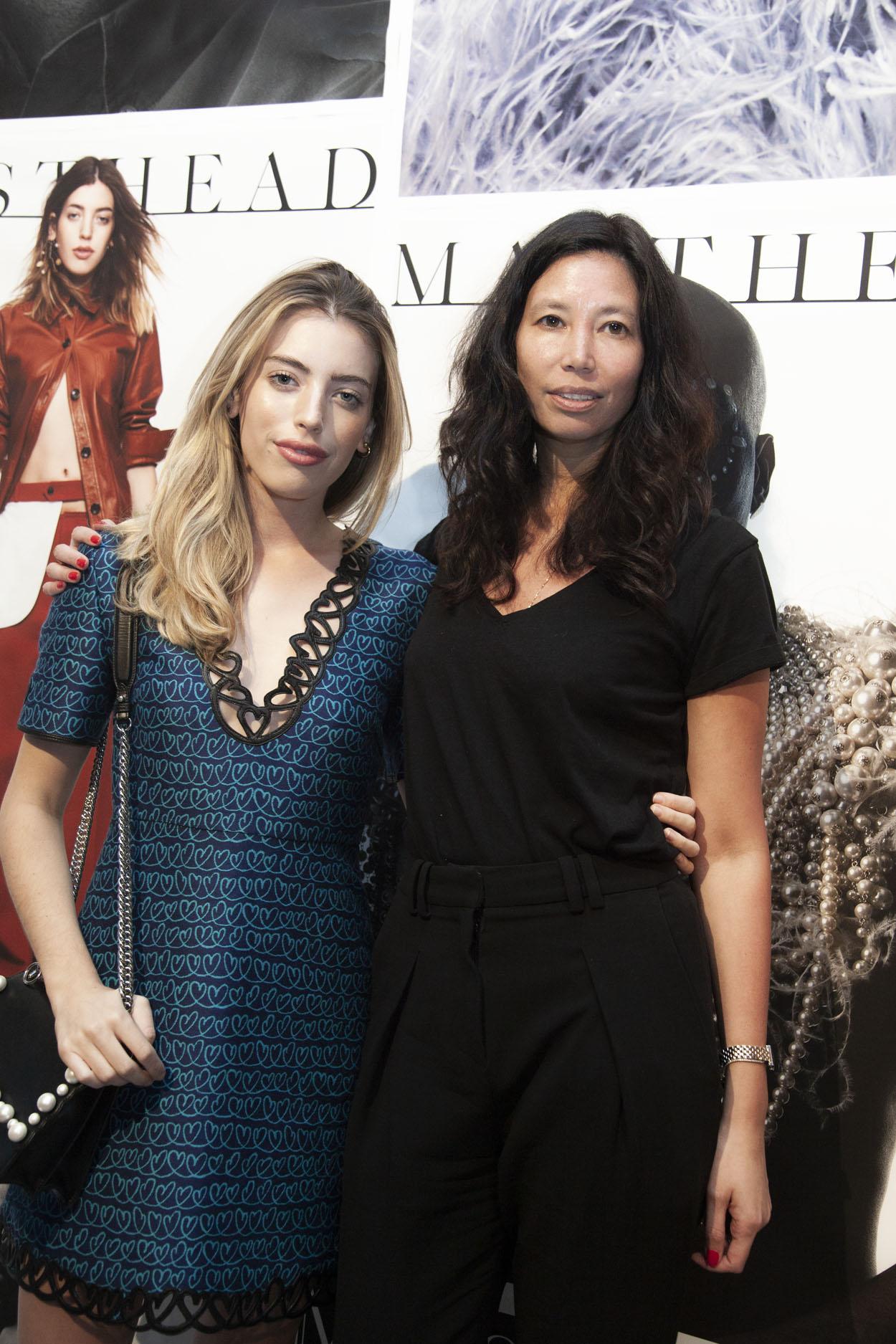 Clara McGregor with Melissa Jones