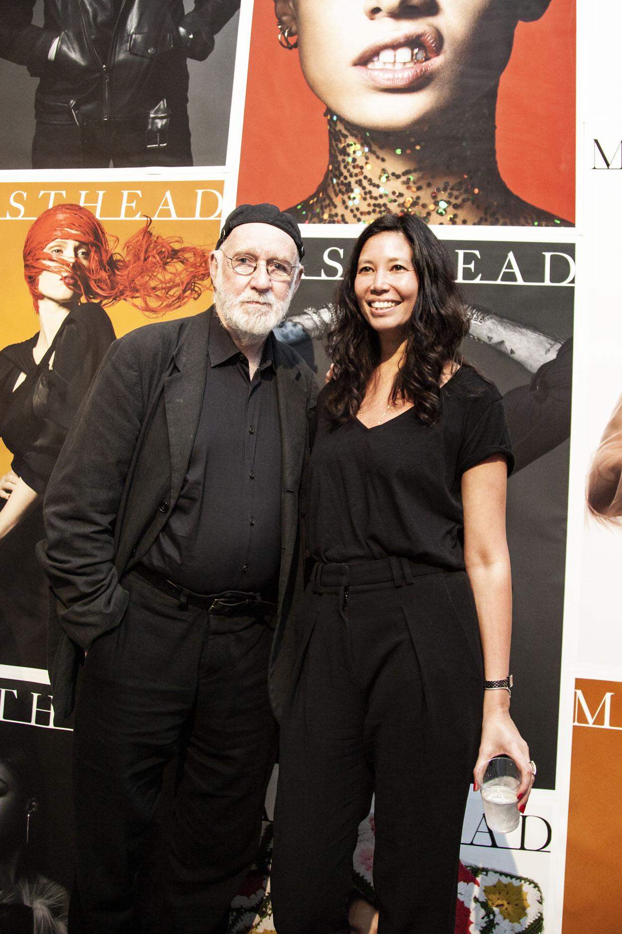 Albert Watson with Melissa Jones