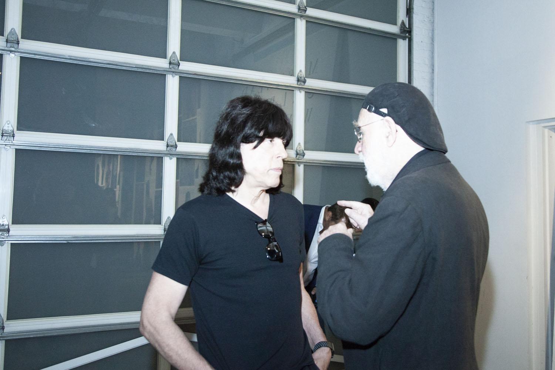 Marky Ramone with Albert Watson