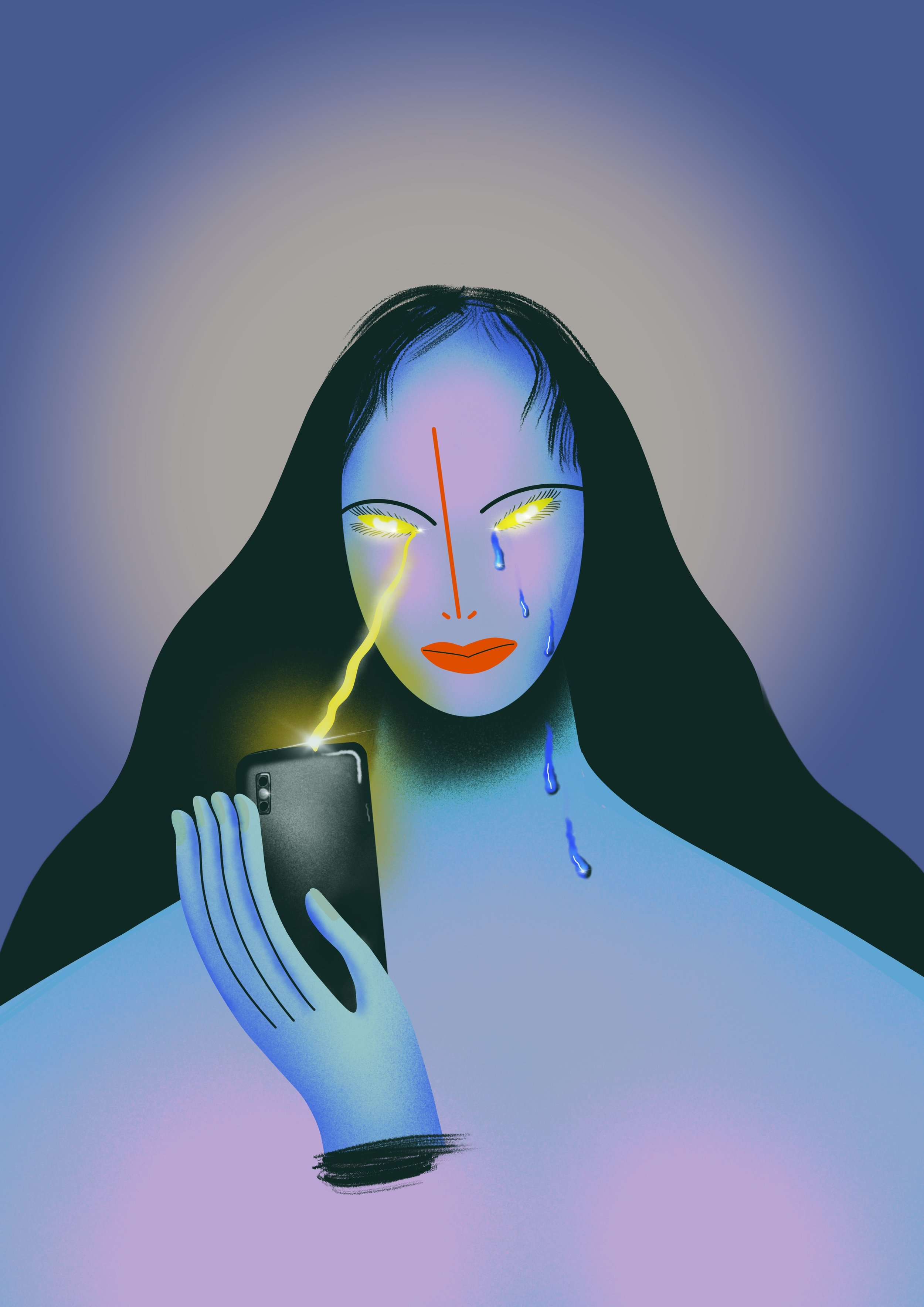 """""""Technology and social media are double-edged swords - unlocking my phone to find many notifications can make me feel my best, just as unlocking it to find nothing can make me feel my worst."""" - -Olivia HealyOn: Technology"""