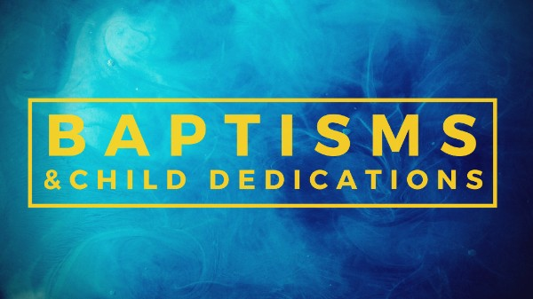 Come witness with us this Sunday as we do child dedications!  Baptisms are coming up in the next several weeks. Date TBD. If interested in being baptized, please email inquiries to rachel@missiosj.com
