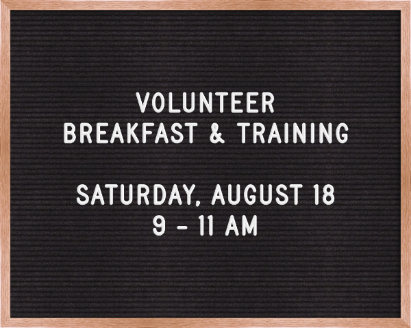 Our volunteer breakfast and training is   tomorrow  ! We are serving up some yummy breakfast (& coffee of course!) and will be gathering with the ministry leaders to learn about all the opportunities to serve God with us at Missio. Hope to see you there!!