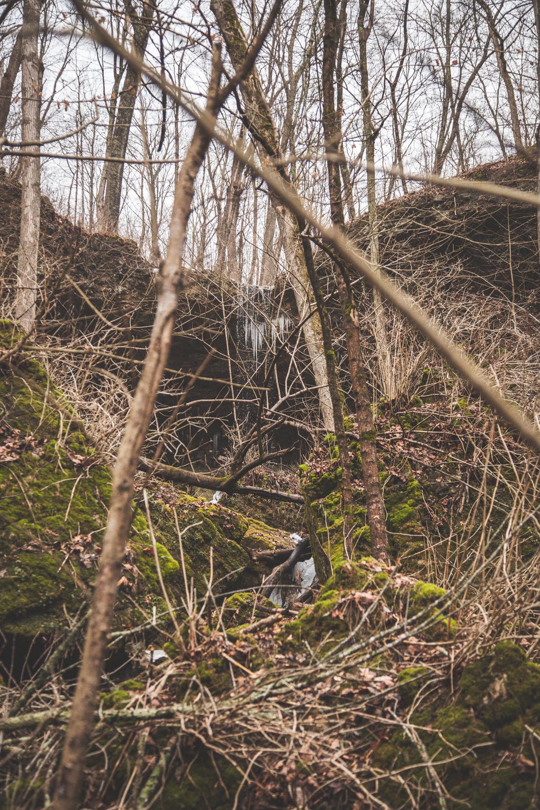 My hidden waterfall - Charlestown State Park