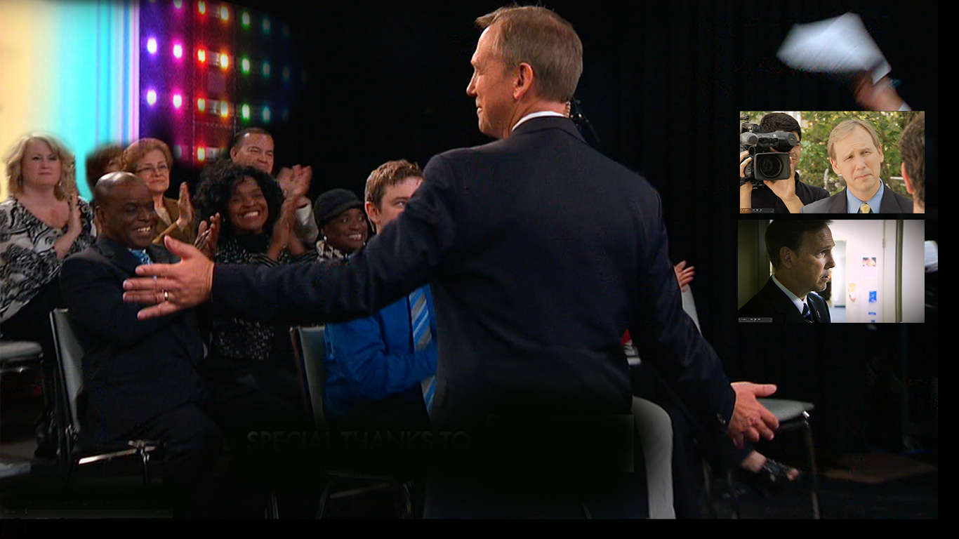 Dale with the audience on TrustDALE TV