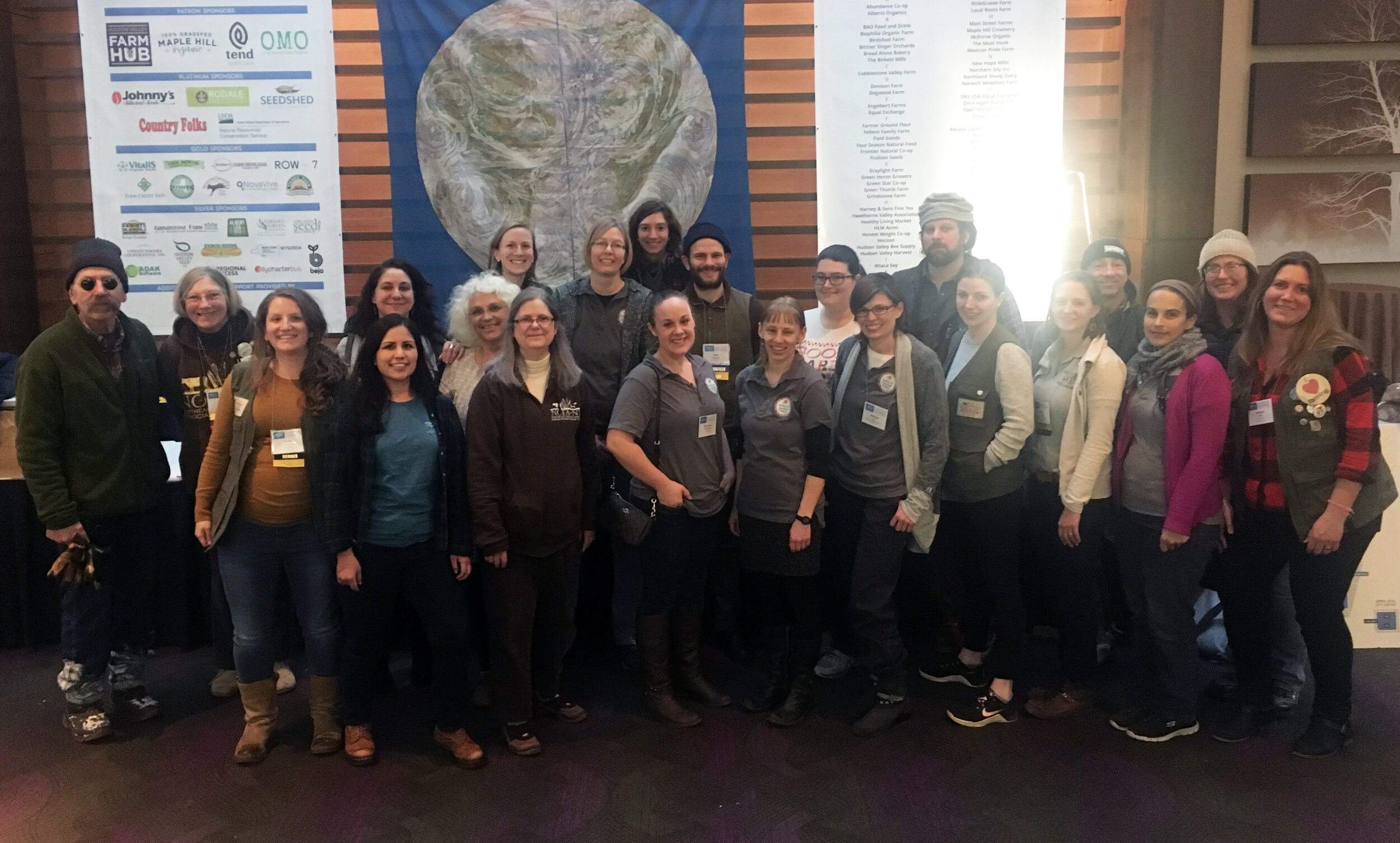 NOFA-NY Staff at the 2019 Winter Conference
