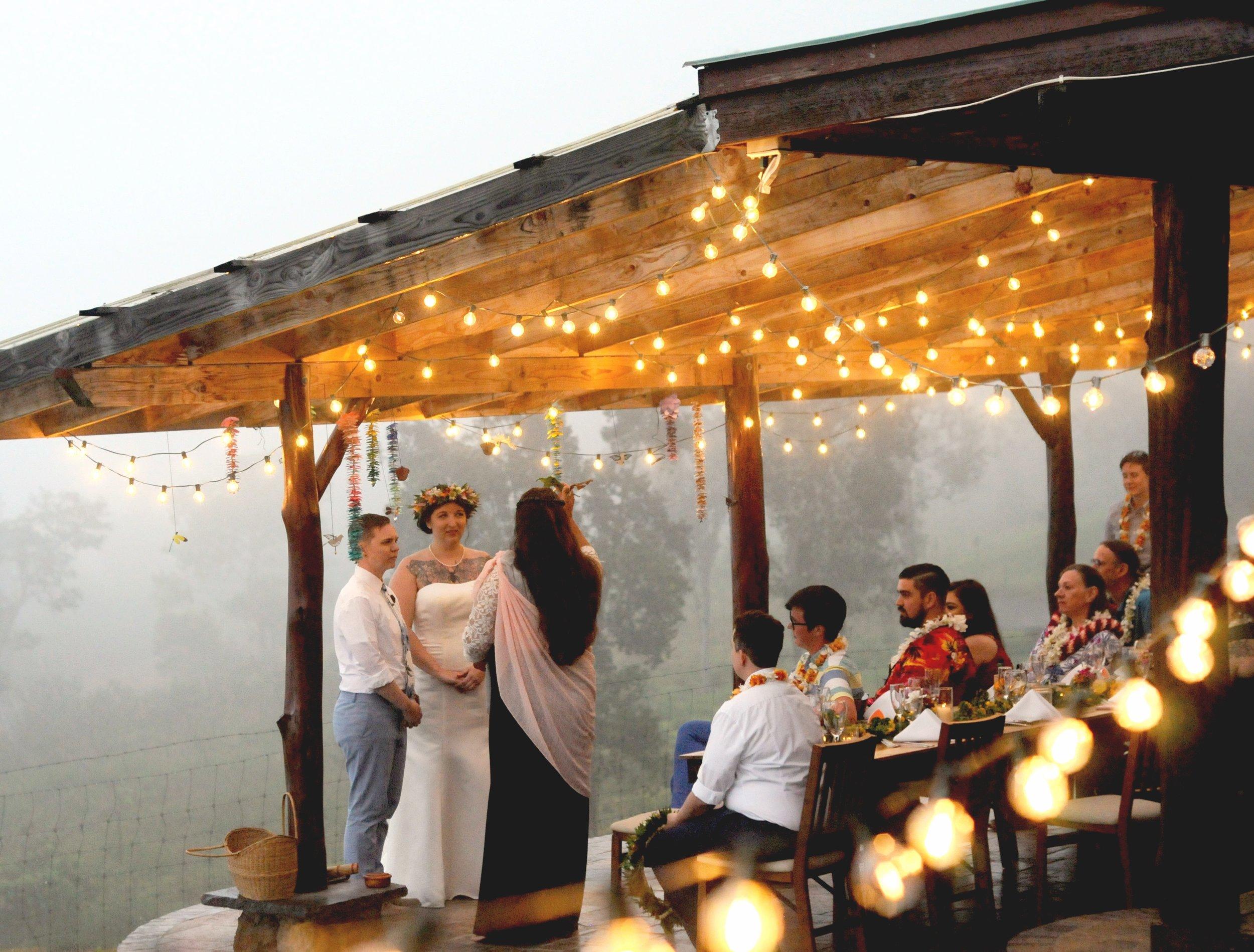 LGBT Hawaiian wedding
