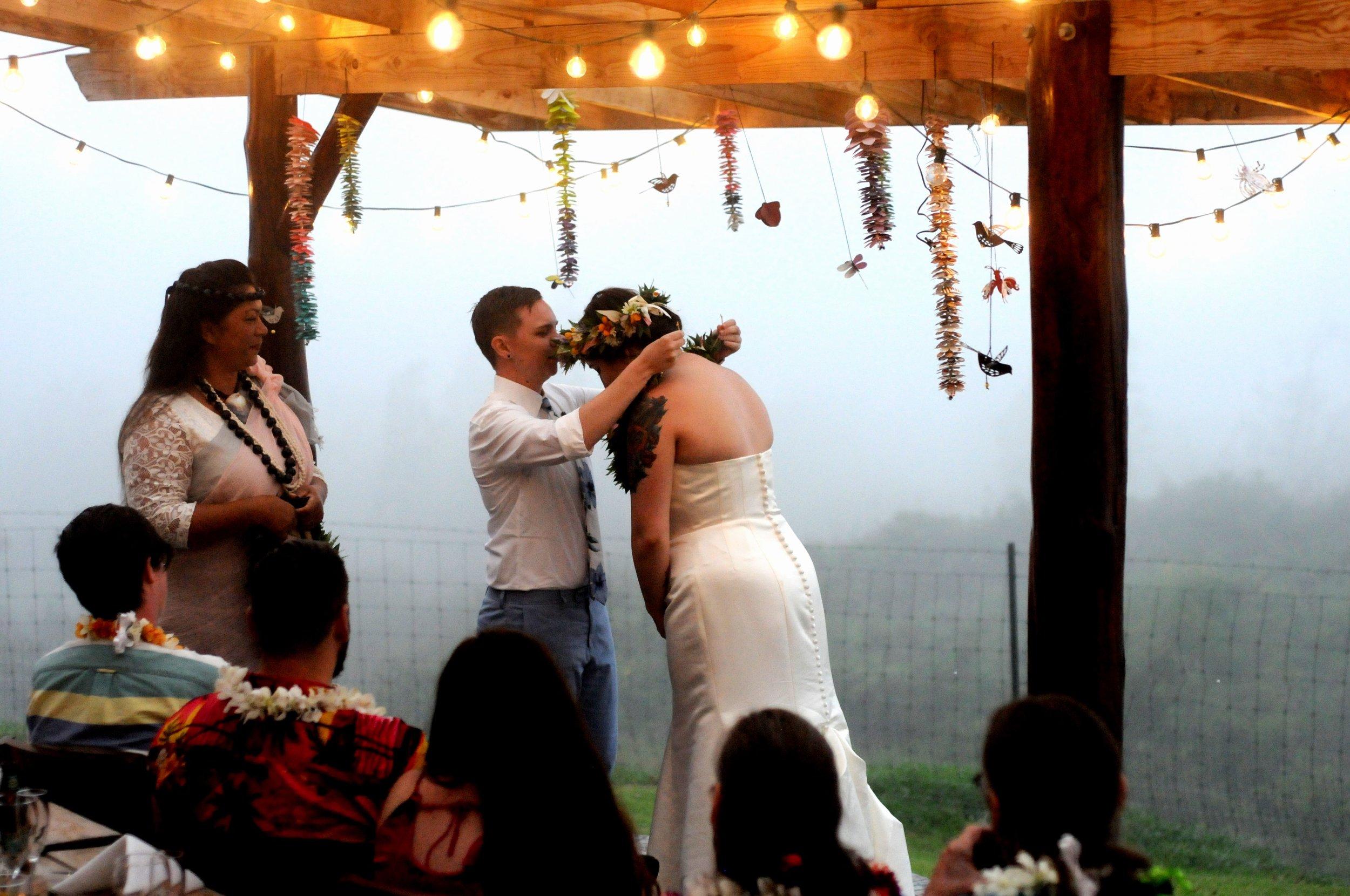 haku exchange wedding hawaii