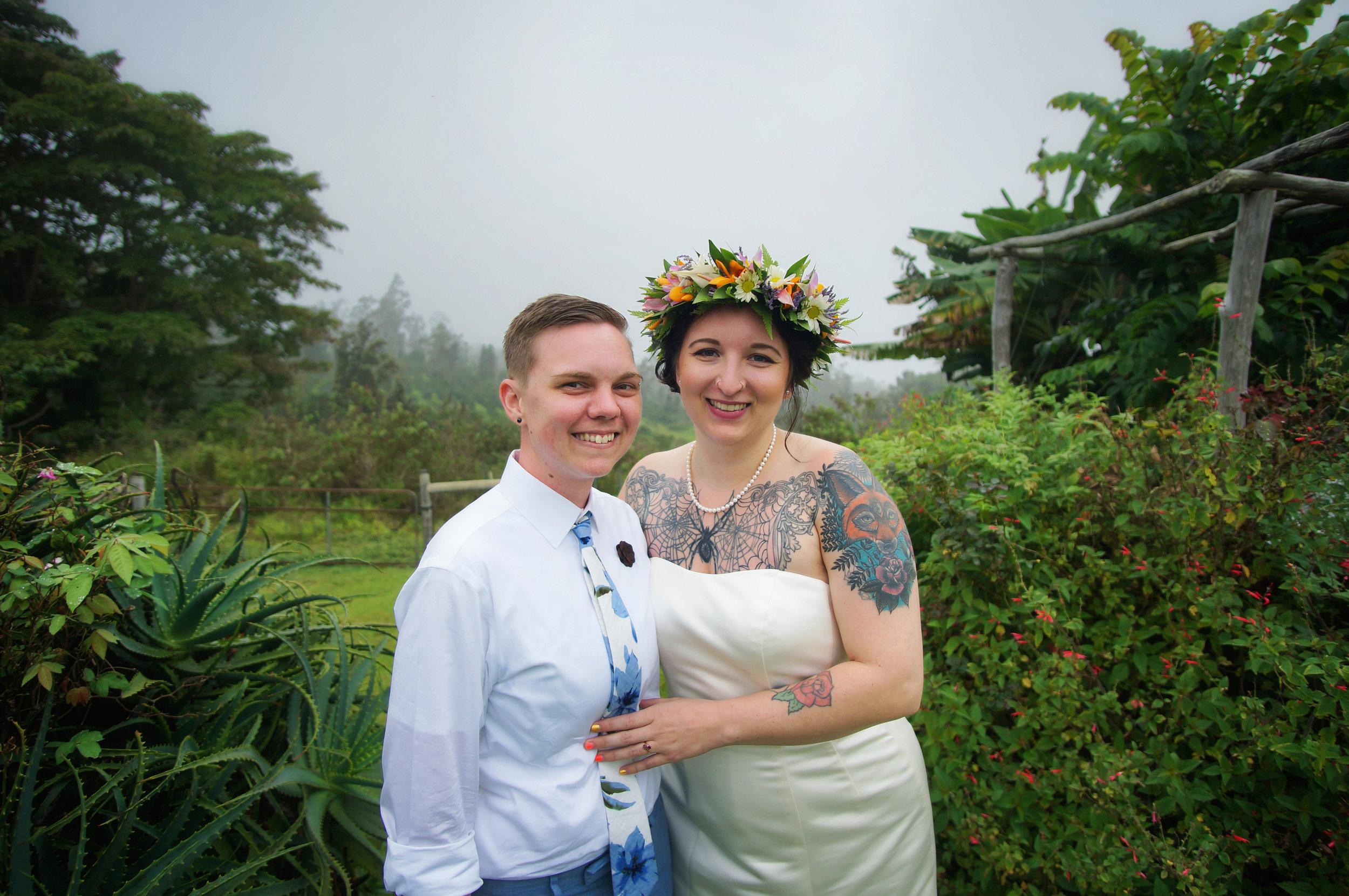 LGBT wedding Hawaii
