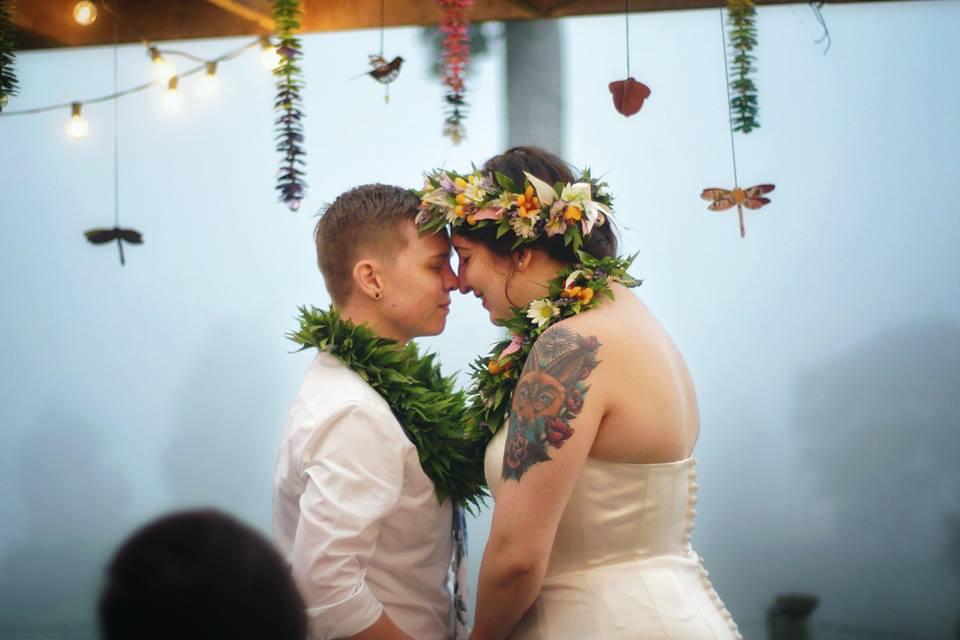 same sex wedding Hawaii