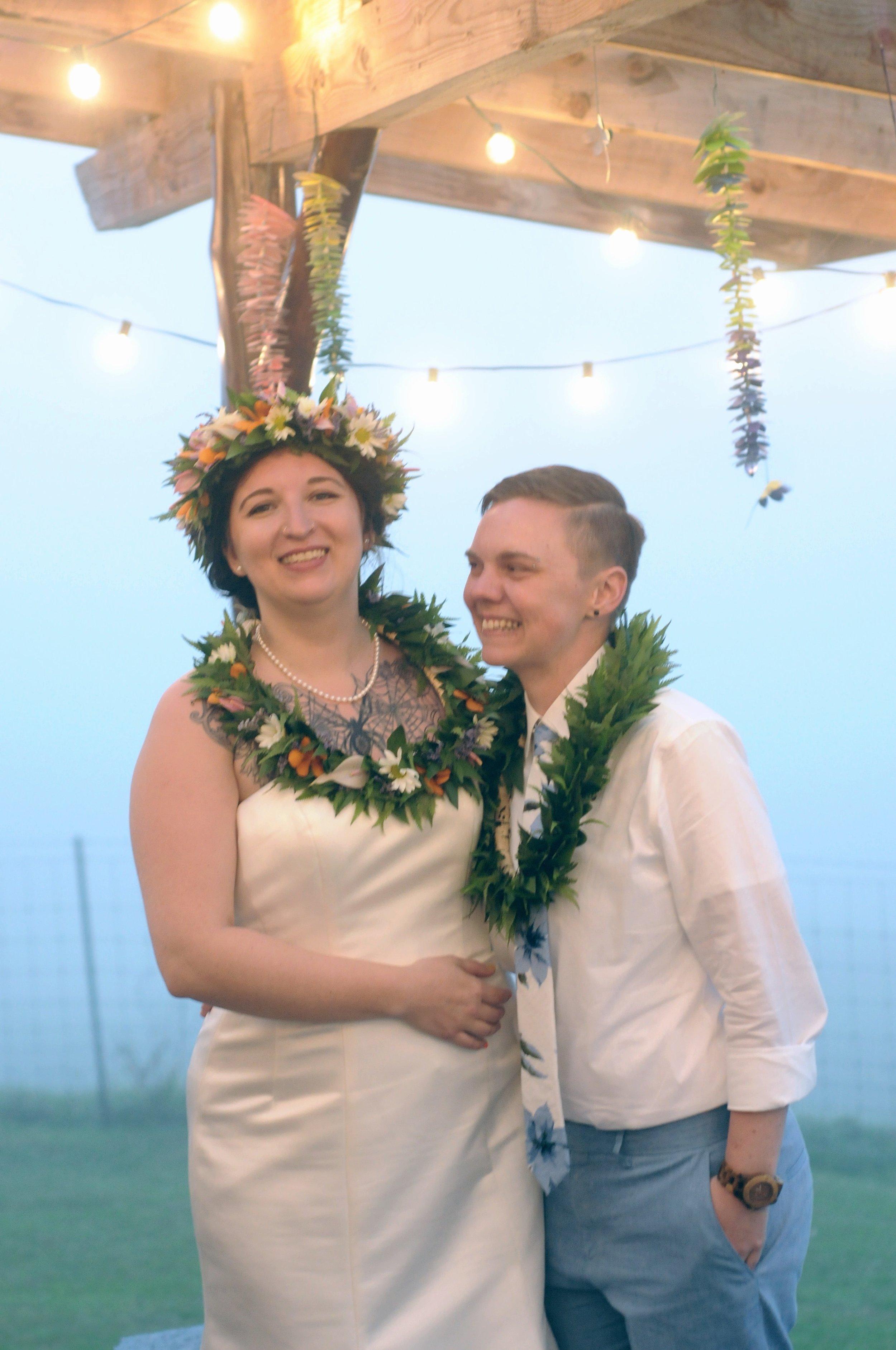 same sex wedding kona