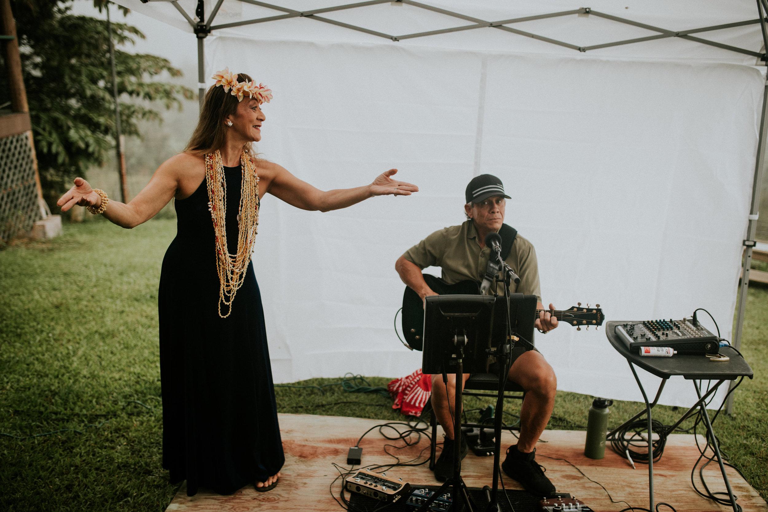 Kevin Teves and Pua Kaahanui