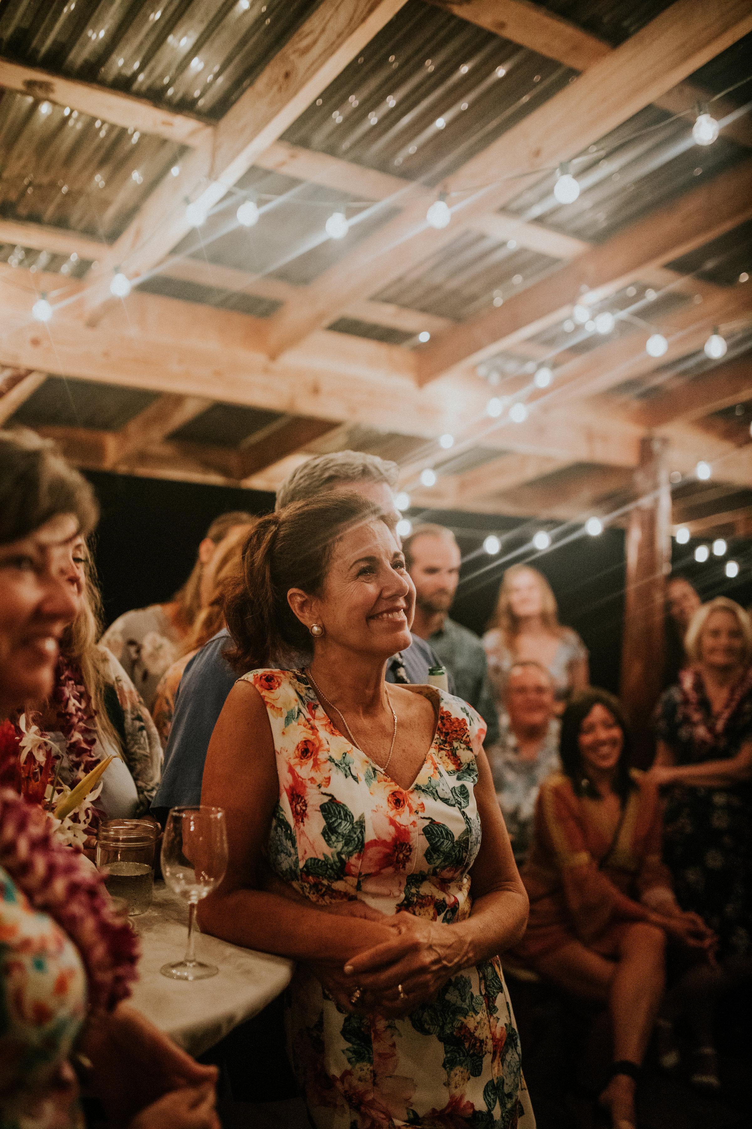 outdoor wedding reception hawaii