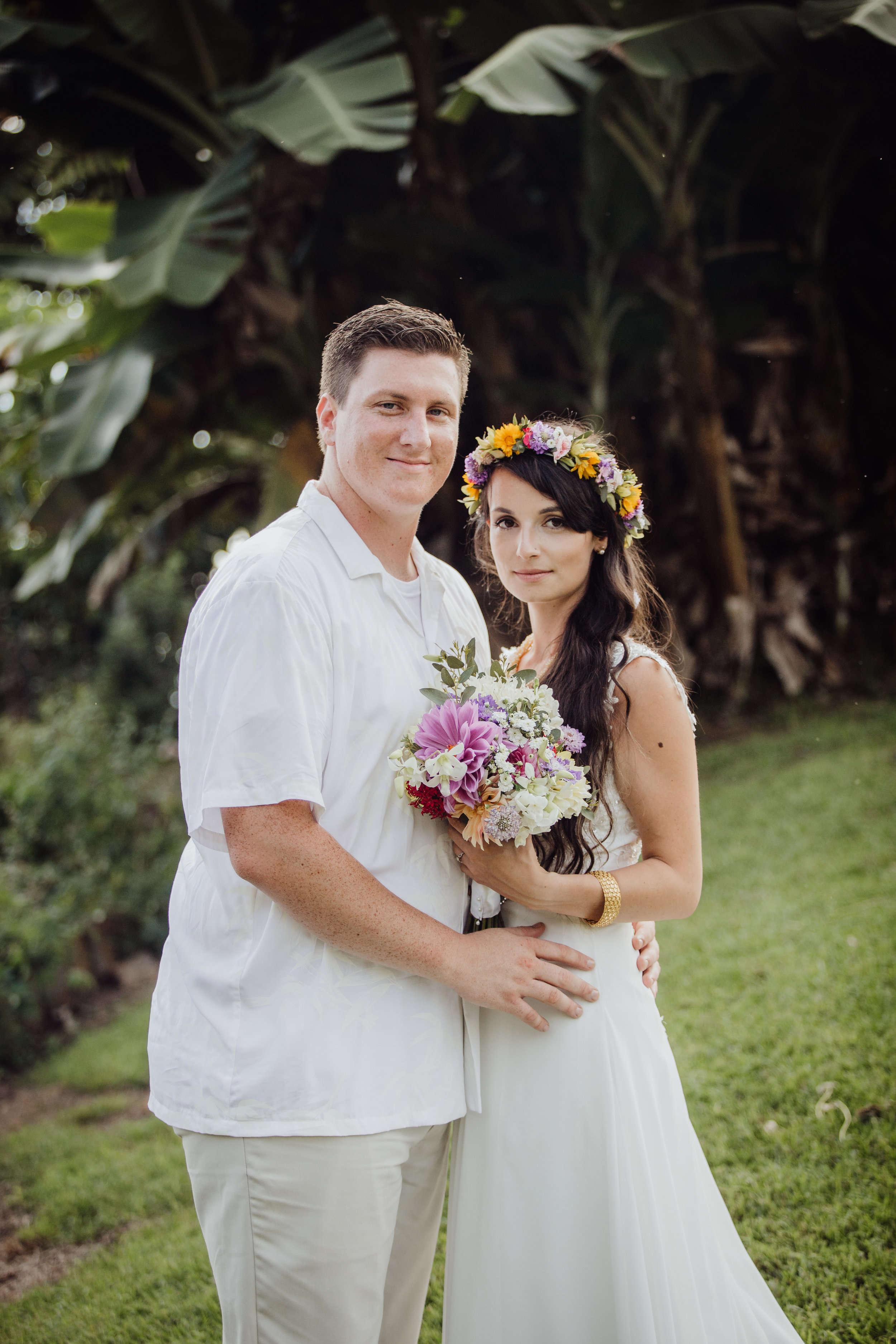 hawaii farm wedding